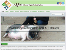 Tablet Preview of albanyvegan.org